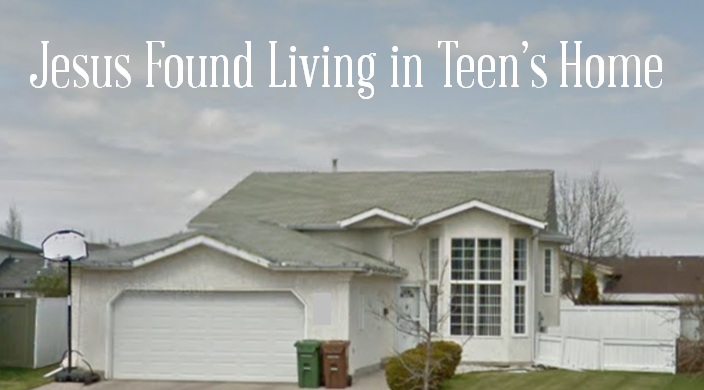 Startling Discovery! Jesus Found Living in Teen's Home