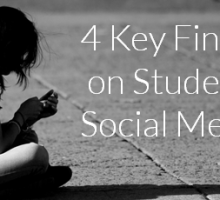 4 Key Findings on Students' Social Media Use…#3 will surprise you