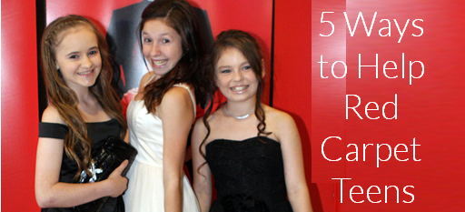 5 Ways to Help Red Carpet Kids