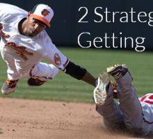 2 Strategies Major League Baseball Teaches Us About Getting Better