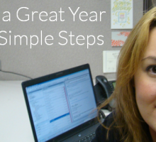 3 Simple Steps to Planning A Great Year