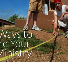 3 Measuring Sticks to Guide Your Youth Ministry