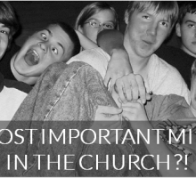 Why Youth Ministry is SO important and 3 things to do about it!!!