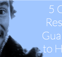 5 GREAT Resources  Guaranteed to Help You