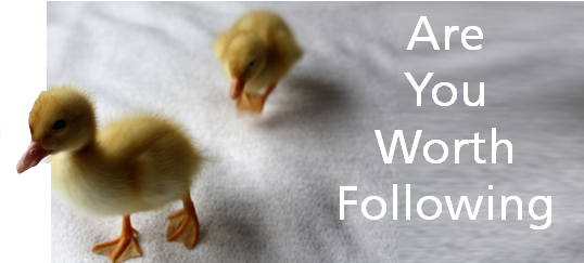 Are You Worth Following?  4 Criteria to See If You Are