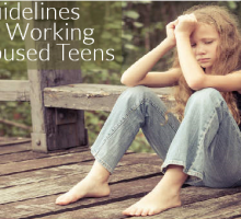 4 Guidelines When Helping Abused Teens