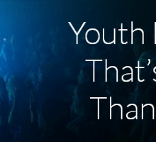 Youth Ministry That's More Than Hype