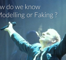 How to Know if We're Modelling or Faking