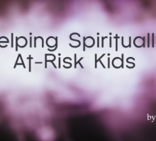 Help Spiritually At Risk Students